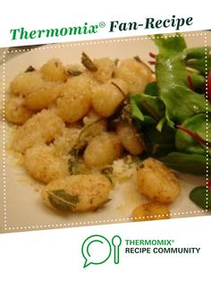 Recipe Ricotta Gnocchi by Thermomix in Australia - Recipe of category Pasta & rice dishes - half the parmesan cheese :) Ricotta Gnocchi, Endive Recipes, Gnocchi Recipes, Radish Recipes, Pasta Dishes, Food Dishes, Vegetarian Rice Dishes, How To Cook Gnocchi, Mackerel Recipes