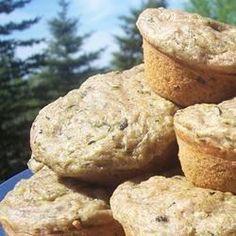 Super Duper Zucchini Muffins Allrecipes.com