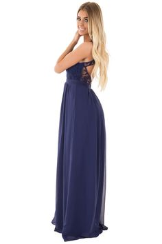 Lime Lush Boutique - Navy Woven Maxi Dress with Crochet Bodice, $49.99 (https://www.limelush.com/navy-woven-maxi-dress-with-crochet-bodice/)