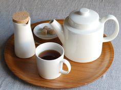 Miscellaneous Goods, Kitchenware, Tableware, Fika, I Love Coffee, White Porcelain, Kitchen Interior, Scandinavian Design, Decoration