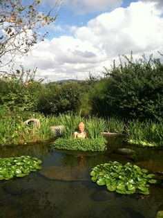 Gartenteich Boden Aus Ton Verhindert Ablaufen Von Wasser   Teich    Pinterest   Fur