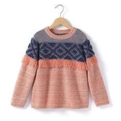 Pull maille fantaisie Mode enfant / mode fille La Redoute AH15  http://www.laredoute.fr/ppdp/prod-324508873.aspx