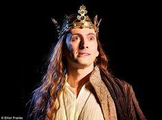 PHOTOS: First Look At David Tennant As Richard II | DAVID TENNANT NEWS UPDATES