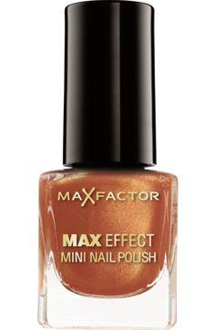 Nagellack Max Effect Mini Nail Polish Deep Coral 10