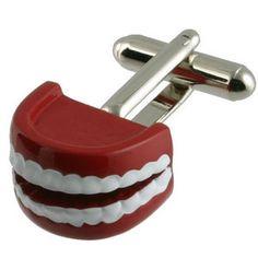 Dentist Teeth Cufflinks