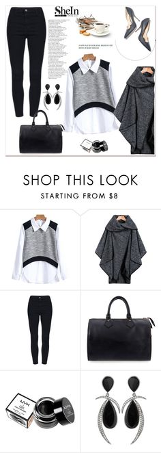 """SheIn IV/4"" by amra-mak ❤ liked on Polyvore featuring moda, Paul Andrew, Louis Vuitton, NYX ve shein"