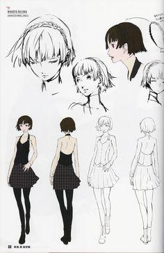 Makoto concept art