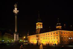 Plac Zamkowy by Night #1 | Flickr