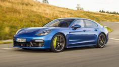 #Porsche #Panamera review: 671bhp Turbo S e-hybrid driven.