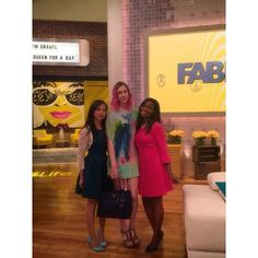 Fabbity, Fab, fab day with these ladies @fablifeshow 👯👯 @hausofhounds @downtowndemure