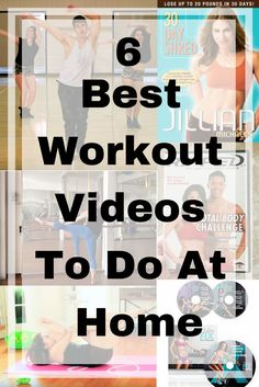 6 of the best workout videos that you can do at home. Ranges from 30 minutes to an hour depending on how much time you have. What is your favorite workout video?
