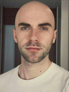 all about hair loss Guys Eyebrows, Blonde Eyebrows, Thin Eyebrows, How To Draw Eyebrows, Drawing Eyebrows, Makeup Eyebrows, Perfect Eyebrows, Shaved Head With Beard, Bald With Beard
