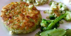 Hamburgher di sorgo e broccoli Ciao tutti oggi ricetta veloce sana e buonissima Il sorgo è un cereale non avevo mai sentito prima di vederlo al supermercato