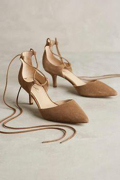Miss Albright Auteur Pumps Desert Nude 9.5 Heels