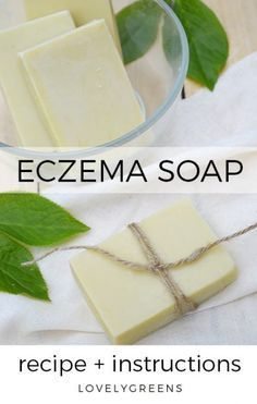 A neem oil soap recipe that combats dryness, itchiness, and inflammation making it the perfect soap for eczema. Makes six bars of all natural soap. soap Neem oil soap recipe: a Natural Soap for Eczema Soap Making Recipes, Homemade Soap Recipes, Castile Soap Recipes, Homemade Soap Bars, Recipe Making, Diy Savon, Cold Process Soap, Home Made Soap, Handmade Soaps