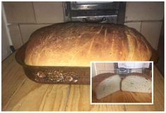 Lacný zemiakový chlieb našich babičiek - hotový je hneď: Starodávne cesto bez kysnutia, vydrží vám celé sviatky! How To Make Bread, Food And Drink, Cooking Recipes, Snacks, Meals, Vegan, Baking, Crackers, Hampers