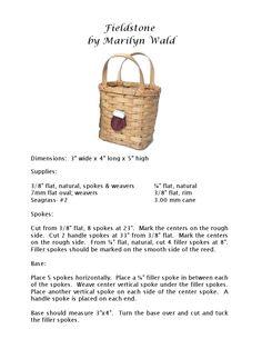 Basket weave pattern - free!