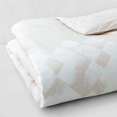Vera Wang Basketweave Texture Duvet, King