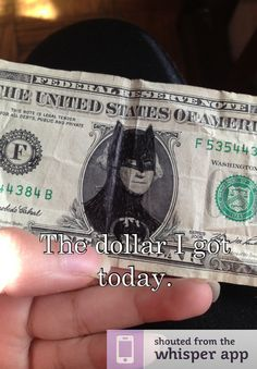 because I'm batman