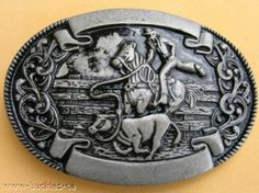 Cool Western Cowboy Rodeo Horse Bull Rider Belt Buckle Western Belt Buckles, Western Belts, Cowboy Western, Western Style, Bull Riders, Christian School, Youth Ministry, Men's Jewelry, Shopping Mall