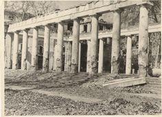 1946 Wiesbaden - Ruine des Kurhauses. ☺ Second World, World War Two, Germany, Europe, Outdoor, Wiesbaden, Ruins, Outdoors, World War Ii
