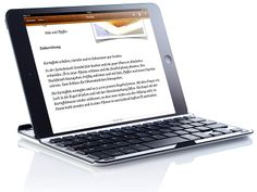 GeneralKeys Alu Schutzcover mit Bluetooth Tastatur für iPad mini