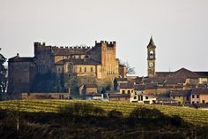 Castle & village of Montemagno Italy