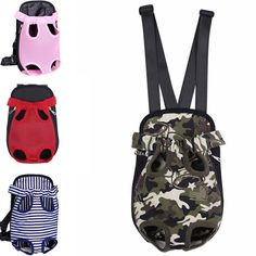 Cheap bag for small dogs, Buy Quality dog carrier backpack directly from China dog carrier Suppliers: Dog Carrier Backpack Lightweight Mesh Camouflage Colorful Travel Products Breathable Shoulder Bags for Small Dog Cats Chihuahua