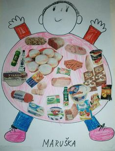 English For Beginners, Montessori, Preschool, Artwork, Baby, Food Items, Bricolage, Food, Healthy Food
