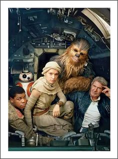 Star Wars: Episode VII - The Force Awakens (Vanity Fair, May 2015)
