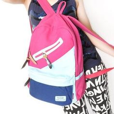 Smoothie  Color-Block Backpack