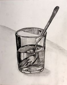 Spoon Distortion Drawing but back ellipse is wrong! Drawing Projects, Drawing Lessons, Art Lessons, High School Art Projects, Observational Drawing, Ap Studio Art, Inspiration Art, Sketchbook Inspiration, Still Life Drawing