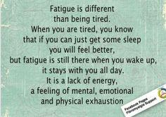 Fatigue..