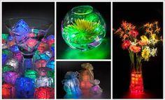 Cubitos de hielo coloridos y sabrosos