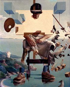 Jose Roosevelt, surréalisme, peintures surréalistes, peintre français, le surréalisme à Paris