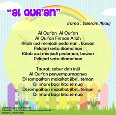 Al Qur'an (original Soleram - Riau national theme song) Islam For Kids, Kids Songs, Theme Song, Quran, Allah, Cute Babies, Parenting, Teaching, Education