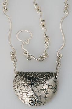 Necklace |  Terry Kovalcik.  Pillow Box.