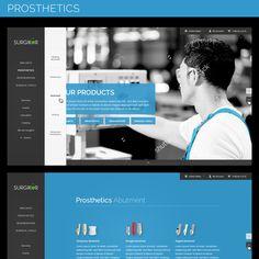Design a Website for a Dental Implant Manufacturer by karomatisch