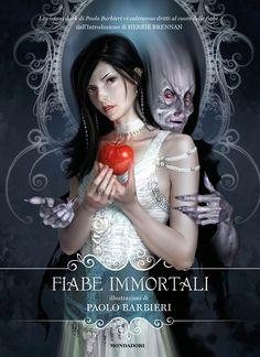 by Paolo Barbieri Magazine Design, Fantasy Art, Snow White, Halloween Face Makeup, Digital Art, Graphic Design, Dark, Drawings, Cover
