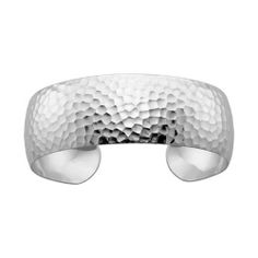 Hammered Cuff Bracelet in Sterling Silver Fred Meyer Jewelers. $206.25