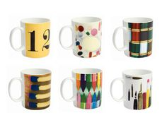 These would be a perfect gift for...me! Photo: Courtesy of Curiosity Shoppe  Eames Mug Set    Bone china mugs (displaying Charles and Ray Eames's own photos) spark lively tableside chatter, no matter the ho-hum weather.    Available at curiosityshoppeonline.com, $95 for six.    Related Links    Hairstyles That Get You Through Winter  27 Secret Weapons Against Skin Care Woes  Stylish Cold-Weather Gear  Warm Up with Comfort Food