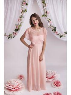 Robe rose pastel