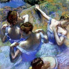 Since I was a child I've had expensive taste in French Impressionism. I absolutely love Monet, Renoir, Manet, even Cezanne.but I LOVE Edgar Degas! Edgar Degas, Renoir, Degas Paintings, Degas Drawings, Dance Paintings, Painting Prints, Art Prints, Painting Art, Canvas Prints