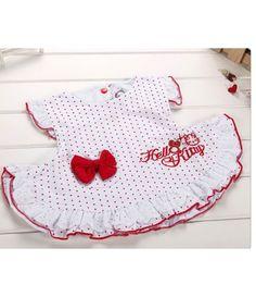 Vestido Hello Kitty Laço
