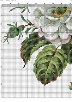 Kanaviçe Çiçek Örnekleri (5)
