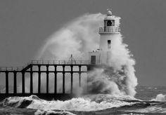 Blyth Pier and Lighthouse