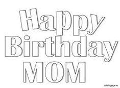 happy birthday stencil free printable