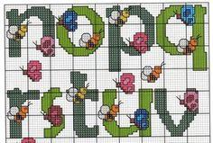alfabeto mariposas borboletas abelhas