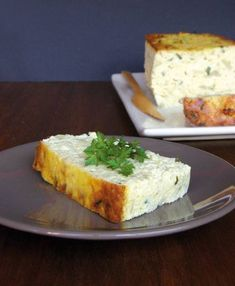 Cauliflower Terrine with Roquefort - Yummy Annabel Yummy - vegetarian Vegetarian Recipes, Cooking Recipes, Healthy Recipes, Healthy Food Alternatives, Salty Foods, Grilling Gifts, Clean Eating Snacks, Food Videos, Love Food