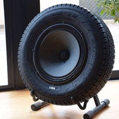 Tire Sub woofer... ridiculous object...but i love you lots. More than lots
